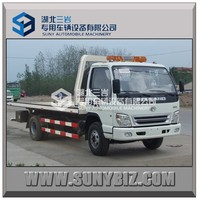 FORLAND 4X2 3t flatbed wrecker truk /wrecker/recovery vehicle