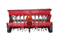 seed drill, Wheat seeder with fertilizer hopper,wheat planter