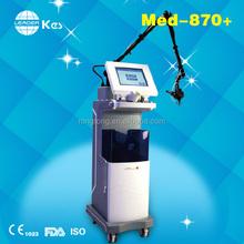 2015 kes CO2 fractional laser MED-870+ machine skin rejuvenation hand laser for wrinkles