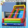 brinquedos doces jumbo inflável da corrediça de água da tubulação de escada inflável slide brinquedos