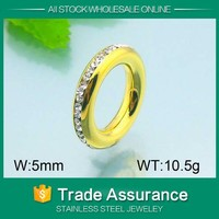 costume jewellery gold plated adustable fashion low price cheap stunning ring fits all