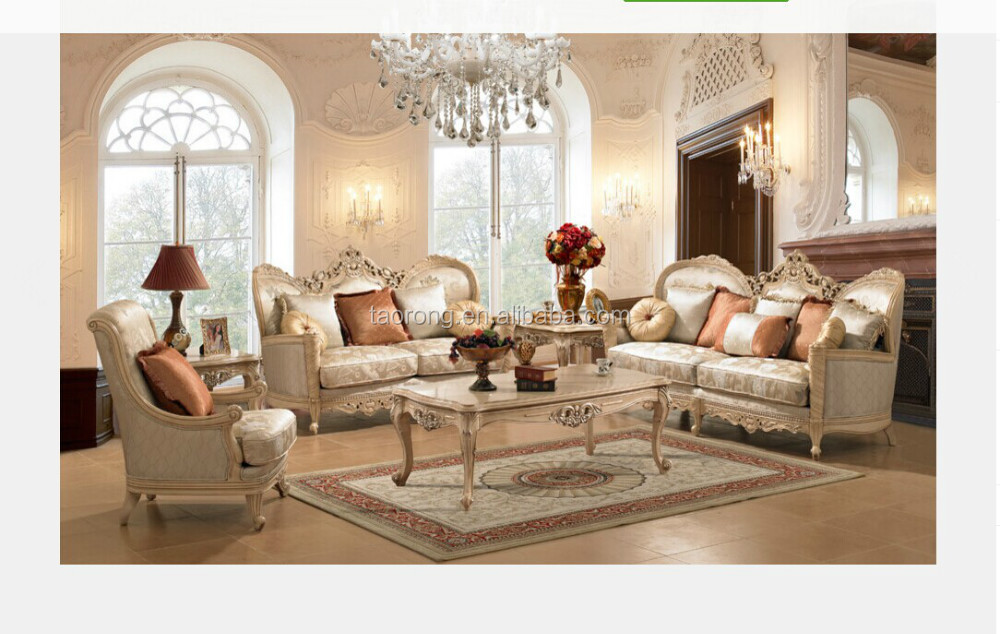 French Style Solid Wood Living Room Furniture Set Trso 796 Buy Living Room Furniture Set Solid