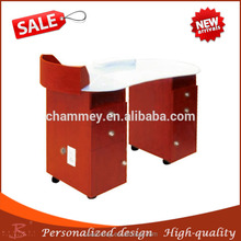 neither too hard nor too soft wooden fit nail cosmetic desk,wooden reliable nail pedicure tables
