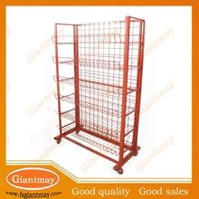 freen standing sweet snack shop 6 tier basket stand