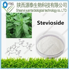 Stevia extract--80~97% Stevioside glycosides--80~97% Stevioside--40~97% Reb-A