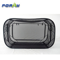 2015 black poray pop up personal privacy tent quick-opening dormitory bed nets