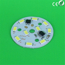 5W 40/ 44mm High Power Pcb Light 220 Volt Led SMD PCB Ce Rohs