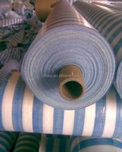 Stripe Tarpaulin blue white
