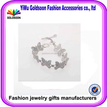 Girls love bud silk weaving bracelets promotion products sell like hot cakes Bowknot is knitted bracelet accessories