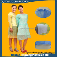 Patient Isolation Disposable Surgical Gown