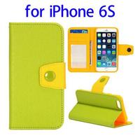 PU Leather cell phone cases manufacturer for iPhone 6S with high quality