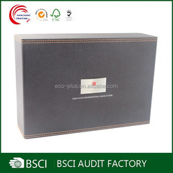 Updated Elegant leather wine carrier wholesale china factory