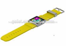 """Golet 1.54 """"TFT-LCD reloj inteligente para sony, inteligente tarjeta sim reloj tamaño pequeño teléfono móvil"""