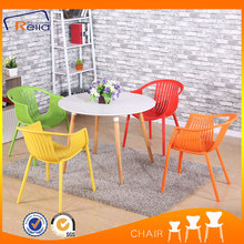 Beautiful leisure all PP used outdoor dining chair