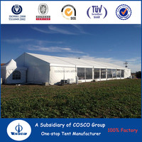 Aluminum frame big ramadan canopies and tents with PVC sidewalls