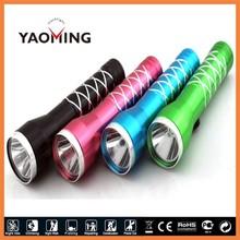 Mini LED Lighting AA Battery Flashlight Middle Switch Alibaba Express