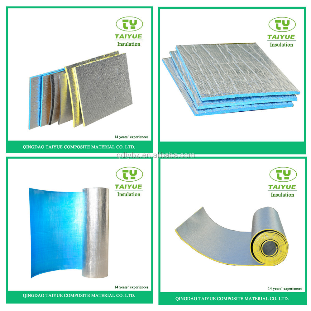 Aluminum foil xpe foam insulation closed cell xpe foam for Home insulation products