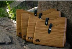High Quality Elegant Wooden Bamboo Protective Cover Case for Ipad Tablet