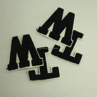 embroidery patches for kids clothes for clothing main label. embroidery patch,embroidery badge,custom embroidered patch