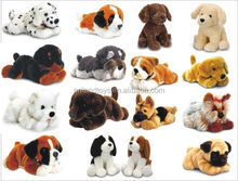 "Pug Dog Standing stuffed animal soft plush toy NEW 16""/40cm"