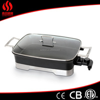 Non stick barbeque grill portable charcoal bbq grill metal fire pit
