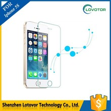 Cell phone accessory Made In China for iphone5 tempered glass screen protector