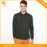 Oem Top Quality New Style Brand Long Sleeve Mens Fashion Comfortable Cotton Us Polo t-Shirts