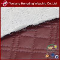 wholesale quilted faux leather fabric for jacket