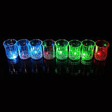 8 Color LED Light Coasters Light Drink Bottle Cup Coaster RGB Night Club Party/led cup