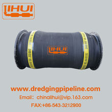 Industrial rubber suction hose with steel wire reinforce for high pressure pn10