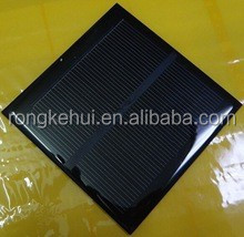 Wholesales Epoxy Silicon 1.2W 5.5V Solar Panle Charger For Cell Phone
