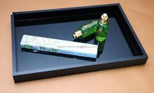 High quality acrylic 5 stars hotel amenities tray