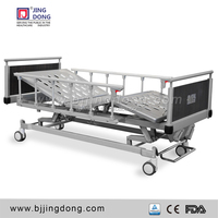 High Quality Two Function Manual Hospital Bed for Home Care