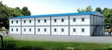 Oil Camp Fast Building Two Floors Container House