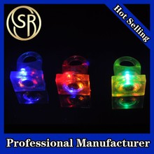 Promotional rings, ring toy, Flashing LED Plastic Crown Rings