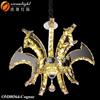 Led chandelier china pendant light led design lighting interior OM88564W-cognac