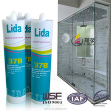 neutral cure waterproofing glass bathroom silicone sealant