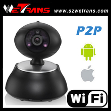 New product 10m IR Distance Night vision P2P and 64CH Alarm 1280*720P easy to install p2p ip camera