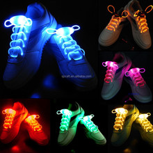 Led flashing light up shoelace,Glow in the dark shoelac,LED shoelace