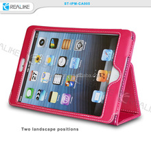 tablet case smart leather case for ipad mini 2 3 4, for ipad case mini air 2 3 4