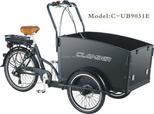 2015 Pedal and Electric Cargo Trike
