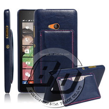 Ultra High Quality Flip wallet card pocket on back cover for Microsoft Lumia 540 leather case fast delivery