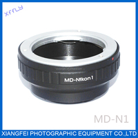 XFFLY lens adapter tube of MD-NIKON1 FOR Minolta MD/MC LENS to MICRO NIKON1 V1/J1