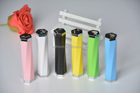 18650 Li-ion Battery 2600mAh 5v 1a output power bank/travel power station with LED torch light