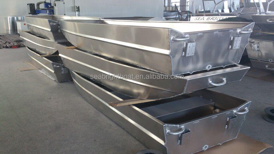 Oem 10ft To 20ft Welded Aluminum Jon Boat,10ft Flat Bottom Aluminum Fishing Boat - Buy 10ft Flat ...