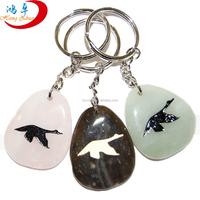 animals Gemstone Key chain