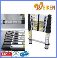 WK-TL13 3.8M foldable easy store step ladder Domestic Ladders Type and Step Ladders Structure