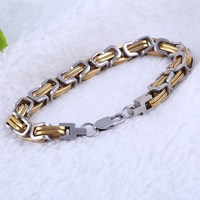 High quality plated jewelry gold necklace chain