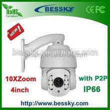 Hot Sale Intelligent 4inch High Speed Dome Camera Auto Tracking PTZ Camera ptz hd outdoor dome