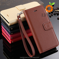 Full Body Protected Flip Cover With Magnetic Buckle luxury case for iphone 6